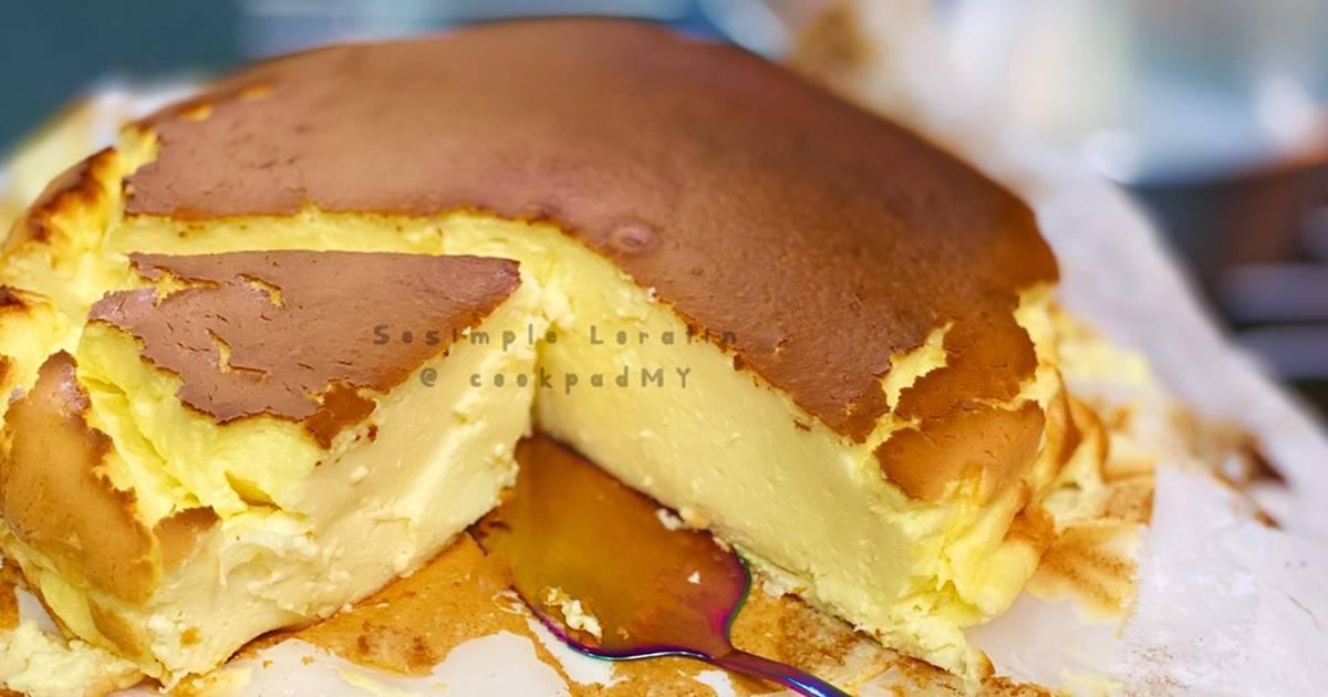 resepi kek keju hangus  ya resipi ni  kena cuba Resepi Kek Pisang Putih Telur Enak dan Mudah
