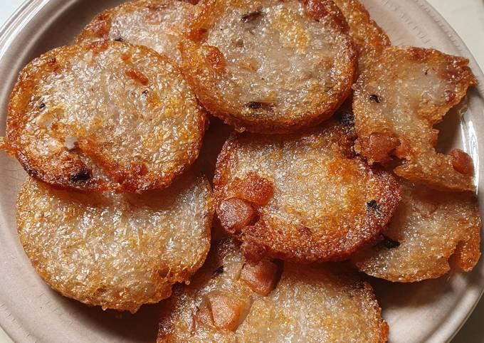 Fried Yam Cake (Snack)