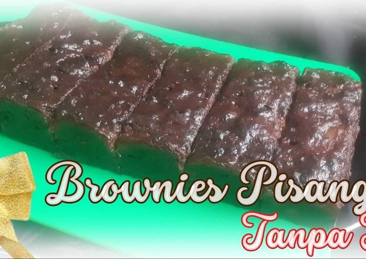 Resep Brownies Pisang Tanpa Telur Tanpa Mixer Oleh Mama Rara Cookpad