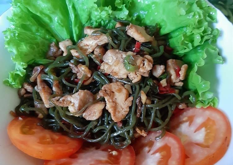Menu Sarapan Diet: Ayam Shirataki Lada Hitam