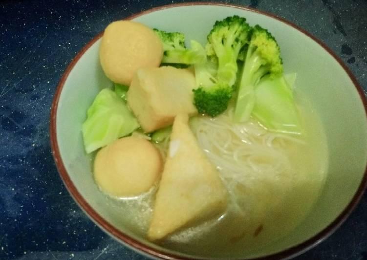 Recipe: Perfect Vermicelli soup