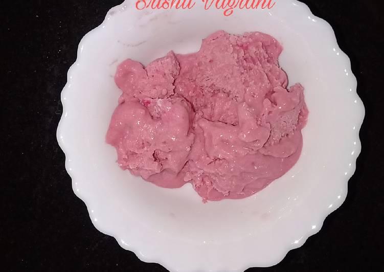 Steps to Make Super Quick Homemade Plum ice cream