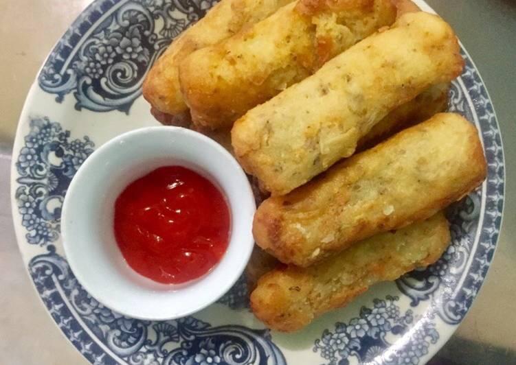 Potato Cheese Stick / Cemilan Stick Kentang Keju / Takjil