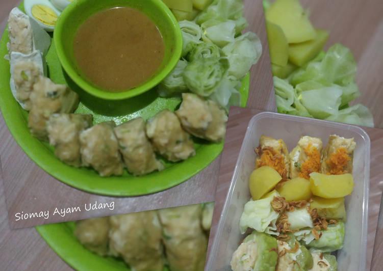 Siomay Ayam Udang gampang dan enaakkk..