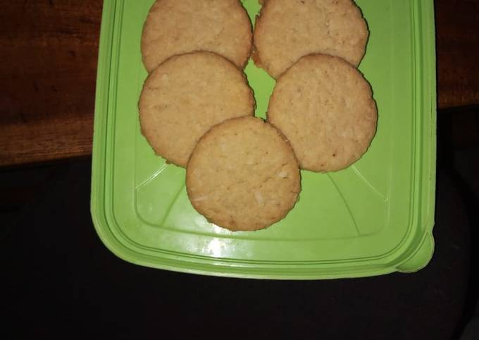 Recipe: Perfect Coconut cookies