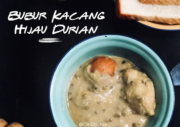 Bubur Kacang Hijau Durian