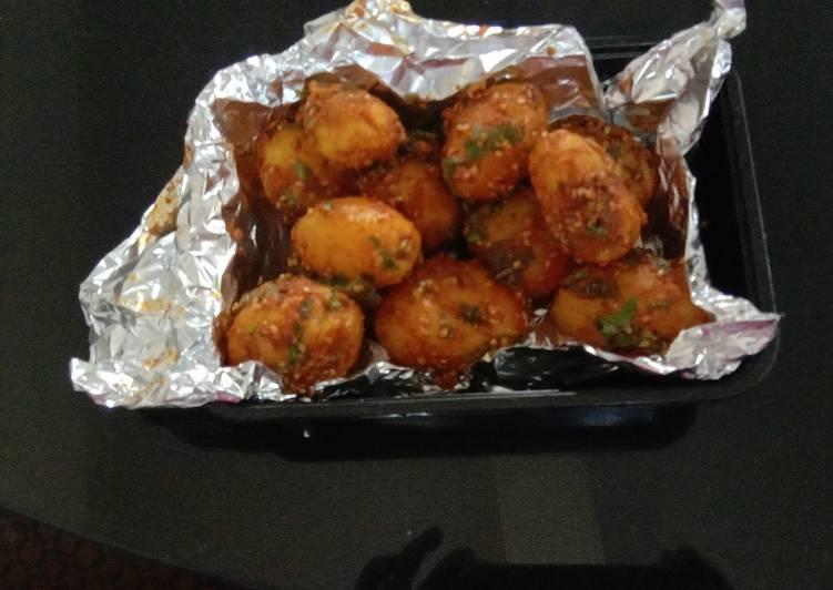 Stir fry Baby potato