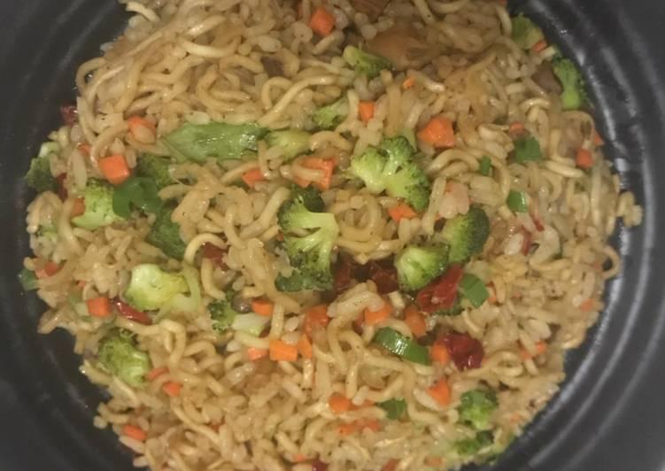 Resep Nasi Goreng Otokowok (versi sehat) Paling Gampang