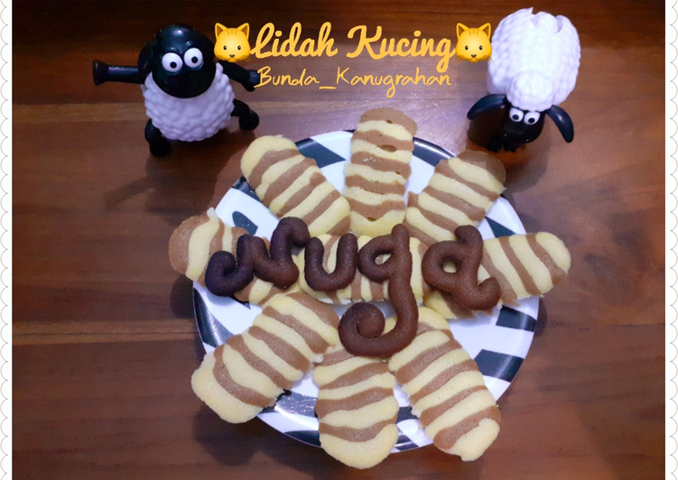 Resep Lidah Kucing Belang Anti Gagal