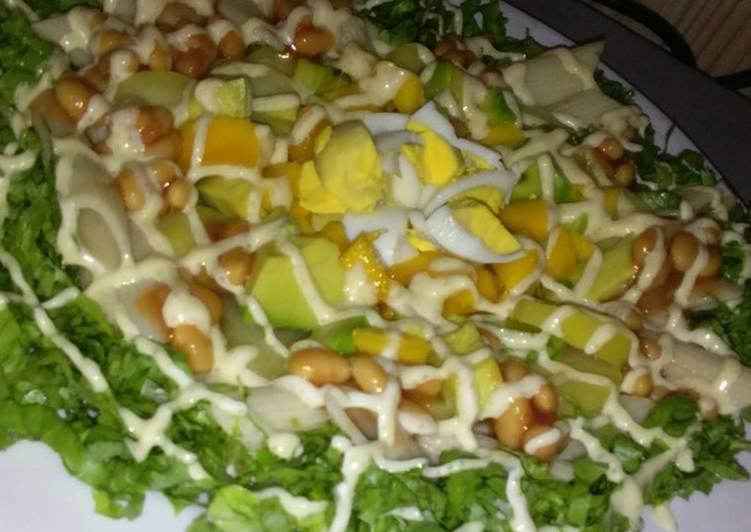 Recipe of Any-night-of-the-week Macaroni/Avocado Salad