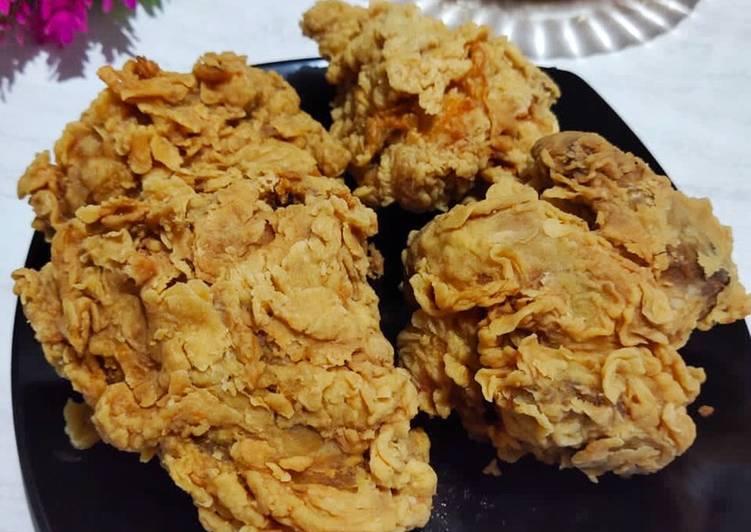 Resep Memasak Ayam Goreng Kentucky Hitungan Menit