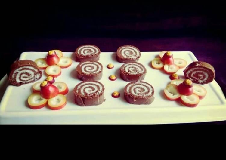 Recipe: Perfect Chocolate Swiss Roll