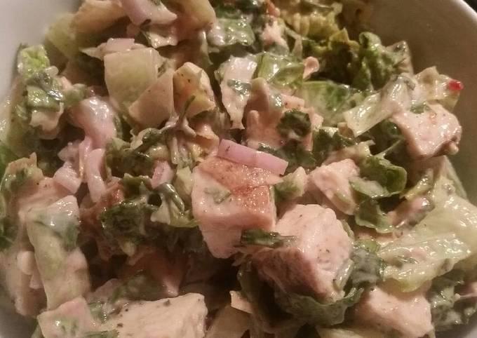 Cranberry-Chicken Chopped Salad