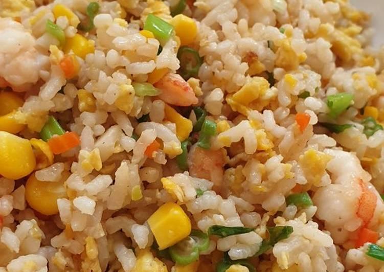 Resep Nasi goreng udang sayuran untuk balita Bikin Jadi Laper