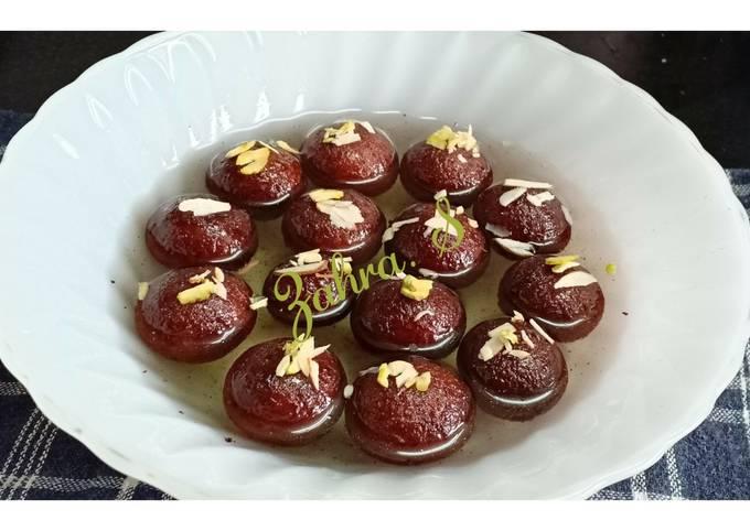 Easiest Way to Prepare Perfect Gulab Jamun with milk powder