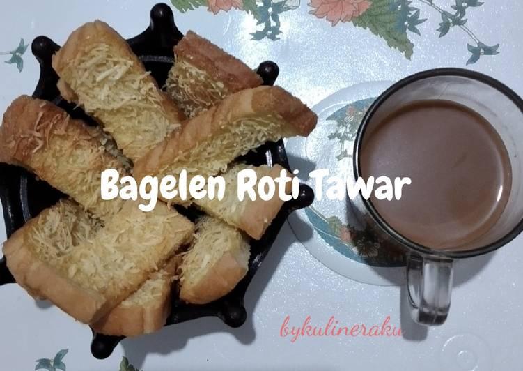 Resep Bagelen Roti Tawar simpel
