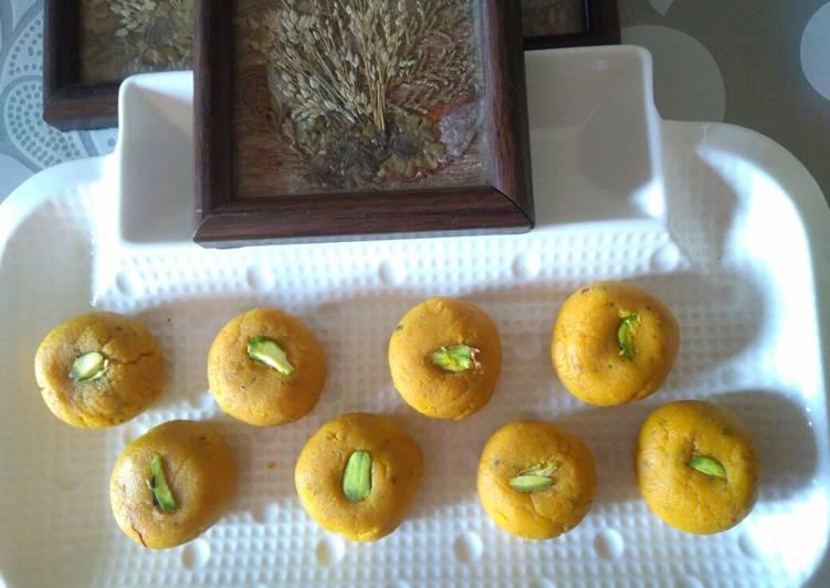 5 Minute Recipe of Refreshing Mango Kesar Peda
