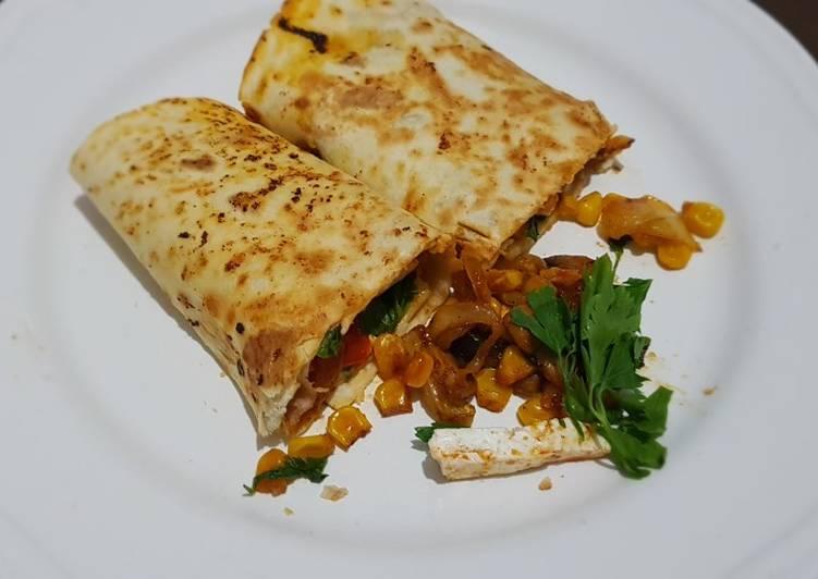 Recipe of Super Quick Homemade Cheese Tortilla #mycookbook