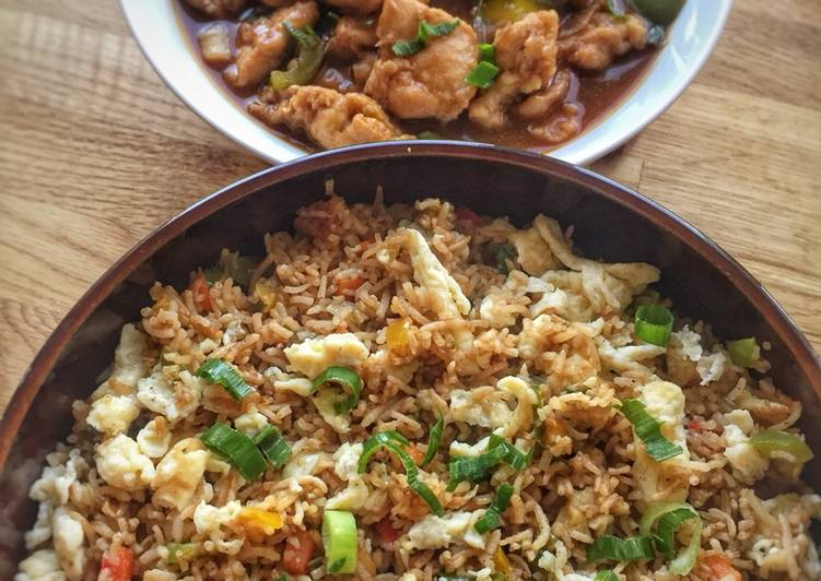 Living Greener for Better Health By Consuming Superfoods Egg Fried rice