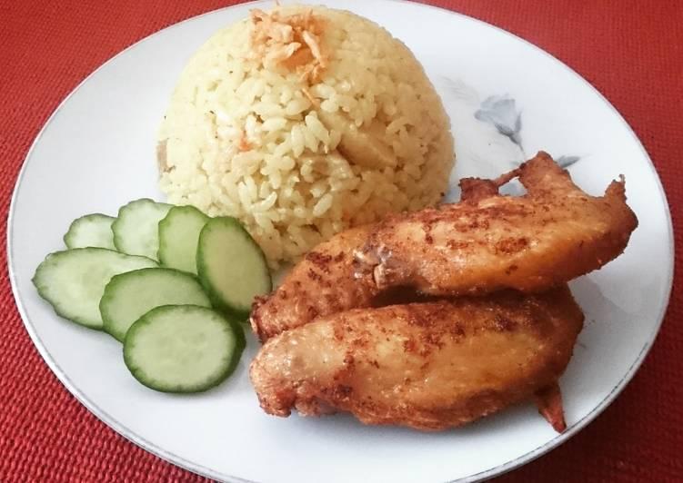 Chicken Biryani Beras Pulen Biasa