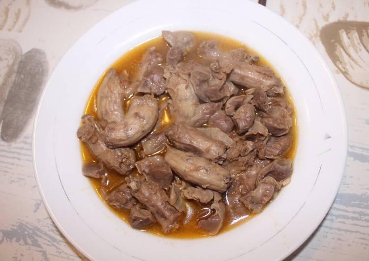 Mollejas Y Cuellos De Pollo En Salsa Receta De Rquilon Cookpad
