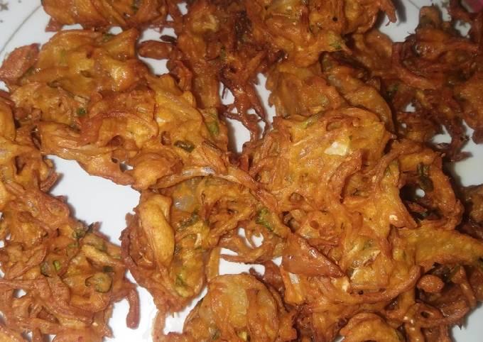 Bhajiya kanda bhaji