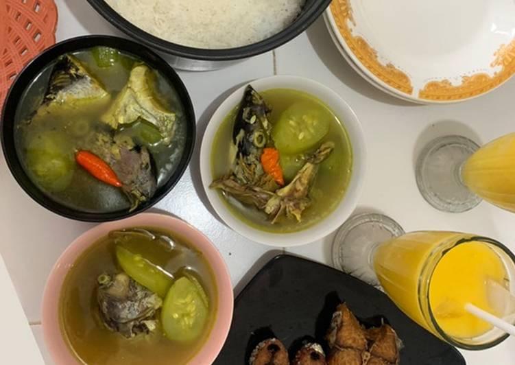 Soup Kepala Ikan Ala2 Mak Beng Sanur-Bali