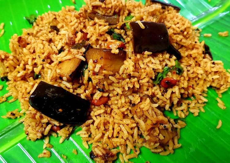 Vangibhath (Brinjal Rice)