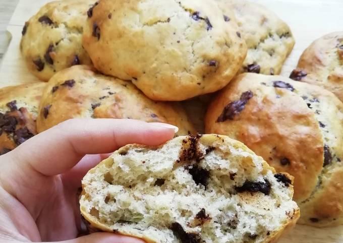 Cookioches aux pépites de chocolat noir 🍫❤️