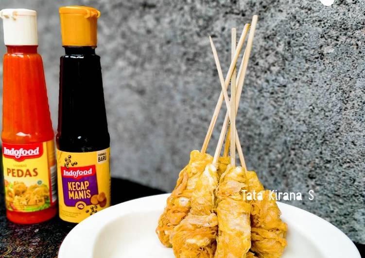 Sate Telur Gulung - cookandrecipe.com