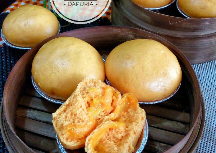 Bakpao Melting Gold (kuning telur asin)