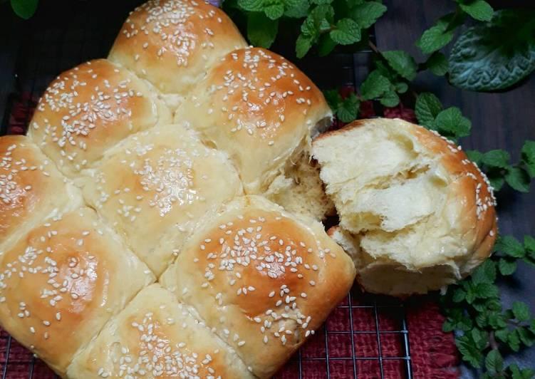 Roti Sobek Eggless ~5 Bahan Utama aja