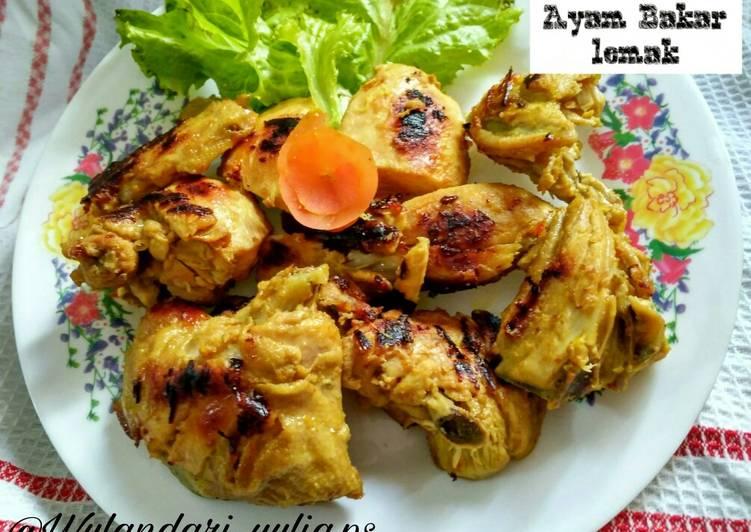 Ayam bakar lemak teflon