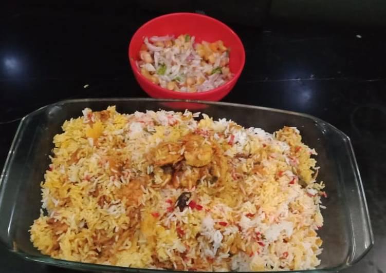 Recipe of Self Prawns biryani/ chatpaty masale dar