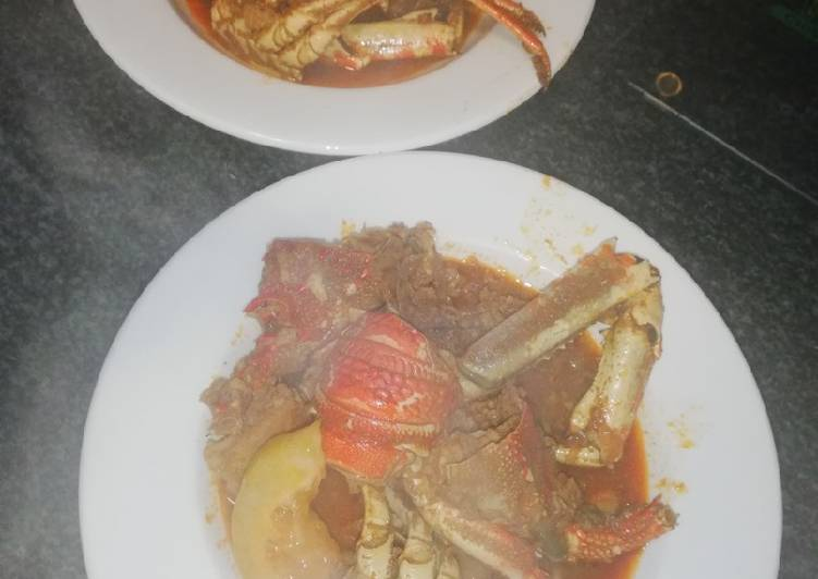 Recipe of Top-Rated Crayfish Curry