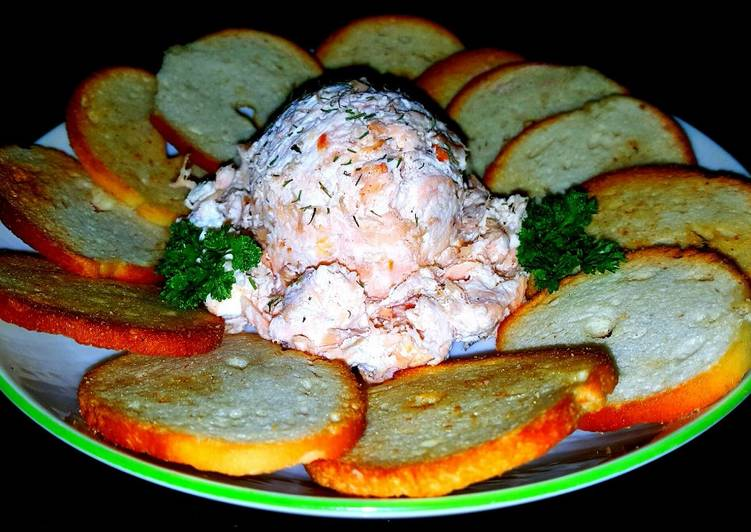 Mike's Smoked Wild Alaskan King Salmon Cream Cheese Spread