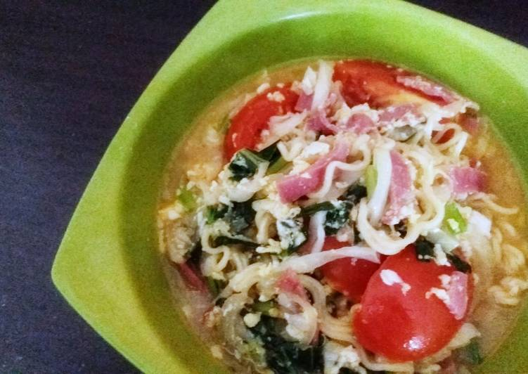 "Recipe of Any-night-of-the-week ""Healthy"" Instant Noodle"