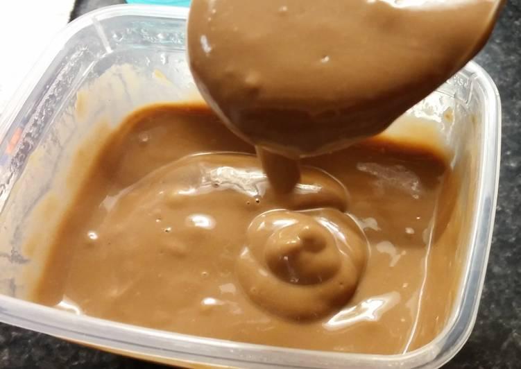 Crème dessert au chocolat (vegan)
