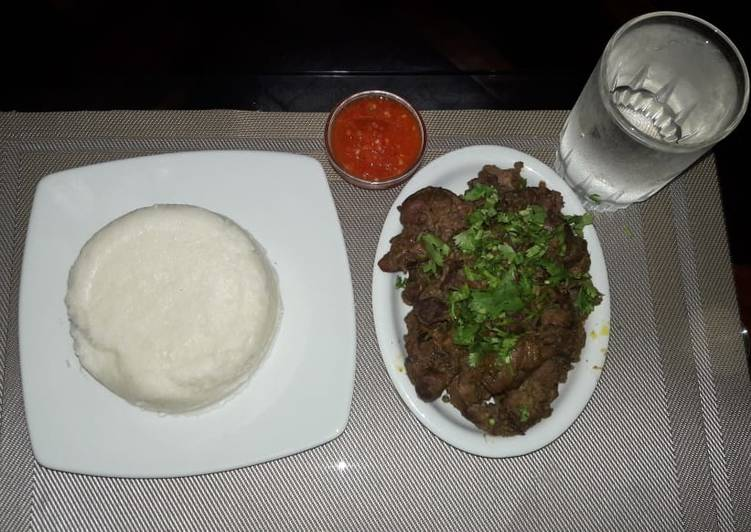 Steps to Make Top-Rated Dry fry chicken liver n gizzards#Weekly Jikoni Challenge