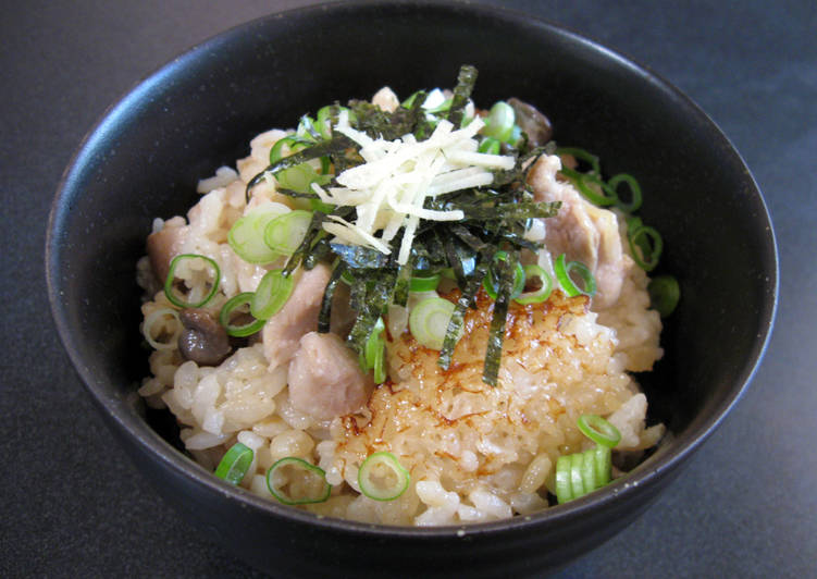 How to Make Homemade Ginger Chicken Takikomi Gohan
