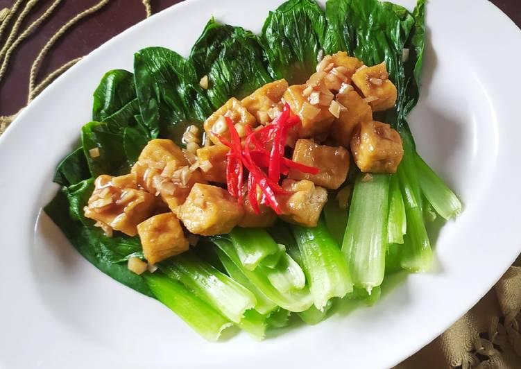 Pokcoy Tahu Saus Tiram #77