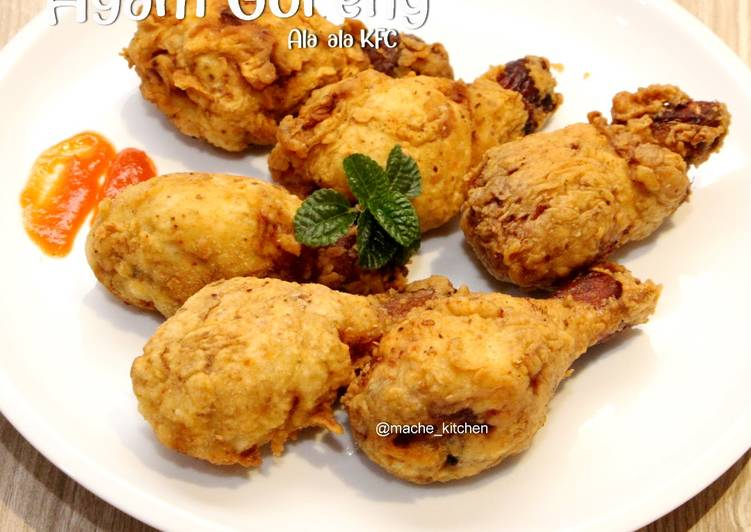 Ayam Goreng ala2 KFC