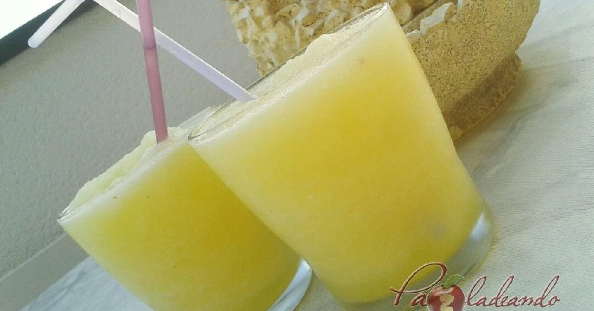 Sorbete de limon sin alcohol casero