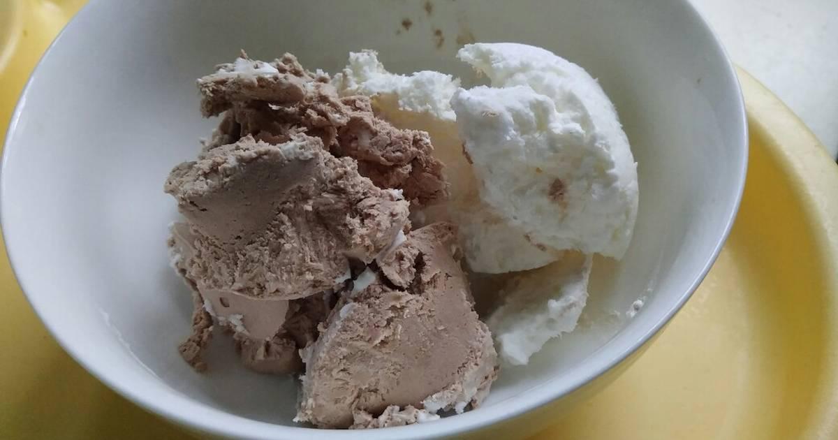 Resep Es Krim 2 Bahan Tersimpel Oleh Dian Karimah Cookpad