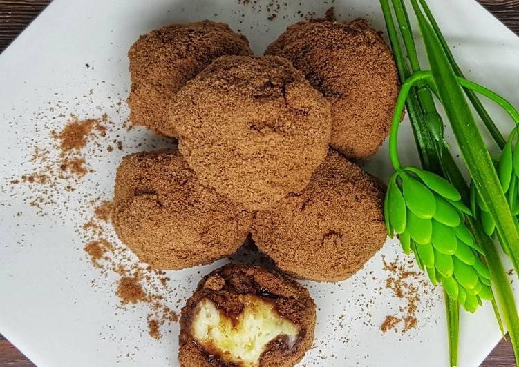 Getuk singkong truffle milo