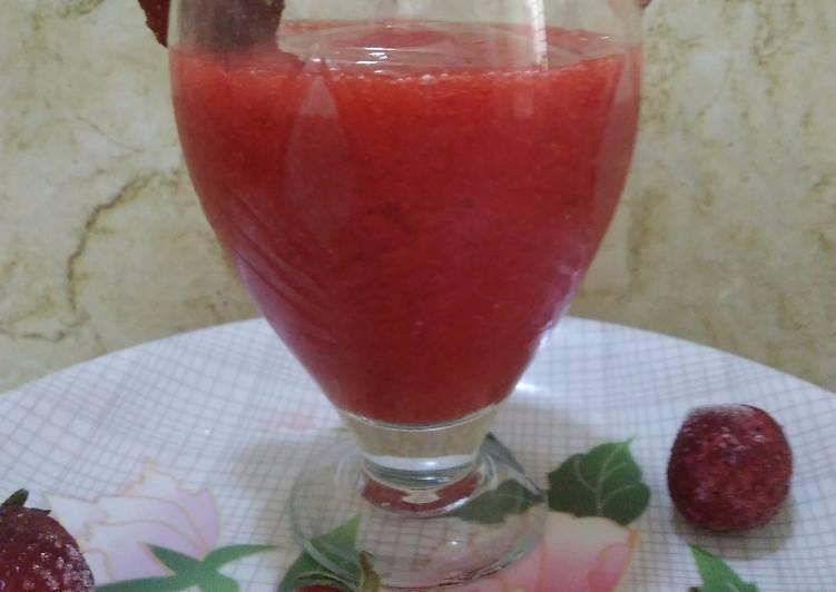 Recipe of Homemade Strawberry Margarita