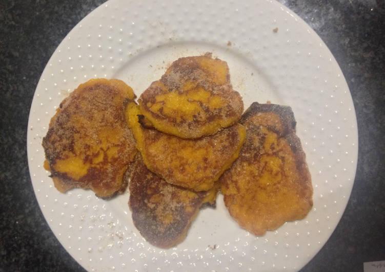 Recipe of Quick Butternut fritter