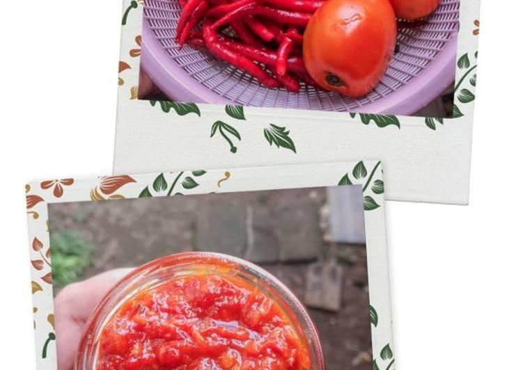 Resep Sambal Tomat Matang Yang Mudah Enak