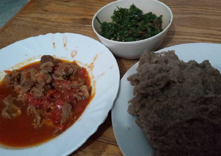 Recipe of Super Quick Homemade Cassava/Sorghum ugali #AuthorMarathon