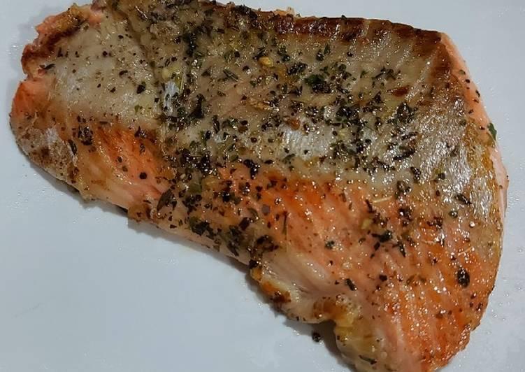Grilled Salmon Sehat Kilat 5 menit